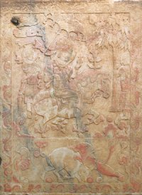 Marble Etchings from Yu Hong's Tomb