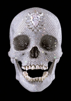 Damien Hrist's Diamon Encrusted Skull