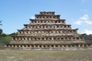 Pyramid at El Tajin