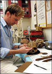Bradley Adams - Forensic Anthropologist