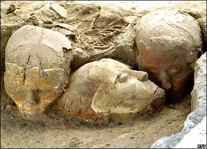 Decorated Skulls from Syira