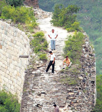 The Great Wall Erodes
