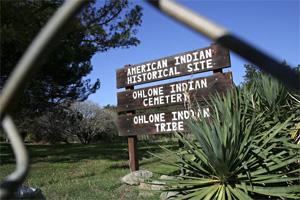 Ohlone Cemetery in Fremont, California