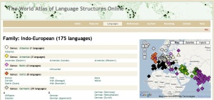 Have You Heard Of World Atlas Of Language Structures Online - World atlas of languages