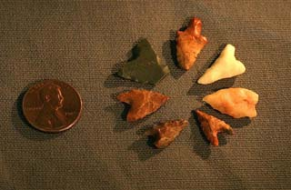 Tenerean Style Projectile Points From Gobero, Niger