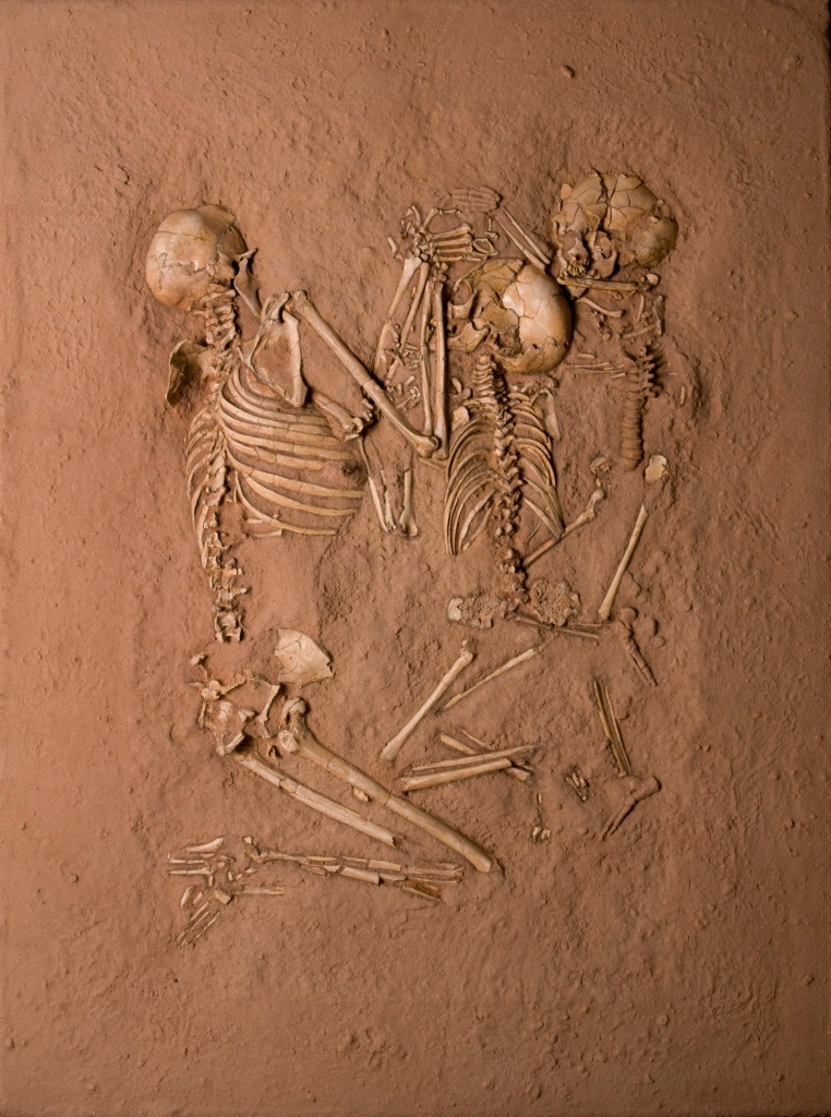 Tenerean Triple Burial, from Gobero, Niger