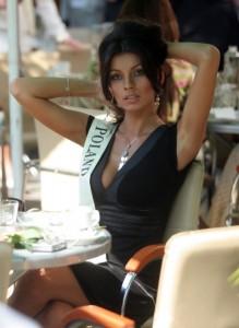 Don't blame me, blame Razib for linking up Marzena Cieslik, Miss Poland 2006
