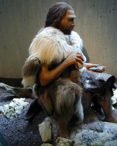 Neanderthaler fitted clothes