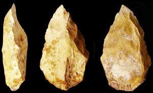One of the hand axes from Jebel Faya, UAE