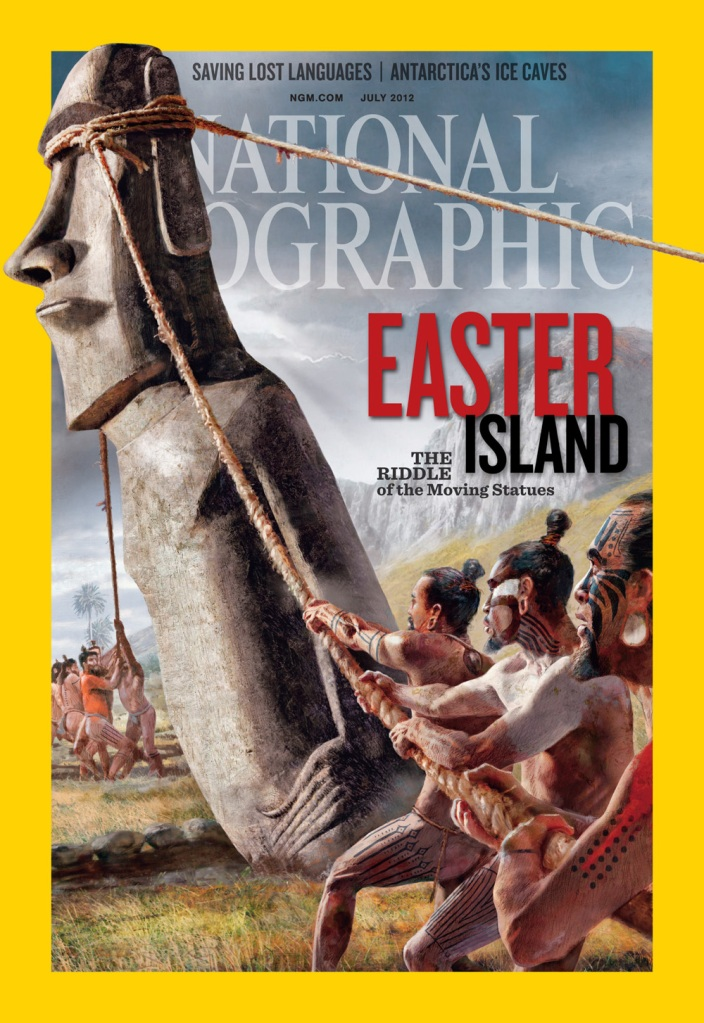 The Cover of National Geographic Magazine for July 2012