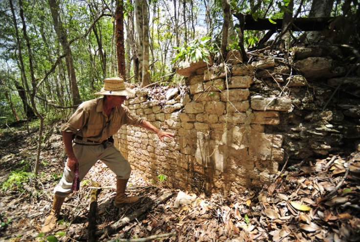 Archaeologist Ivan Sprajc led an international team of experts to study the Maya site. CREDIT: National Institute of Anthropology and History