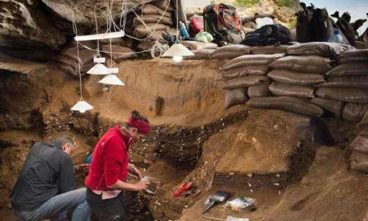 Blombos Cave, South Africa. Credit: University of Bergen.
