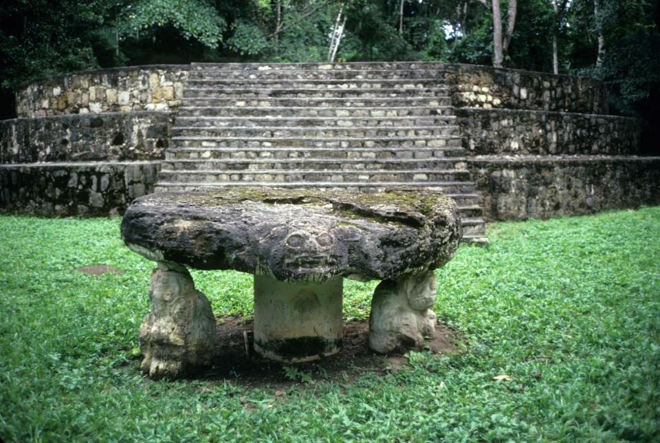 The Maya site of Seibal in Guatemala has evidence for some of the region's earliest ceremonial activity. PHOTOGRAPH BY STUART BAY, ALAMY