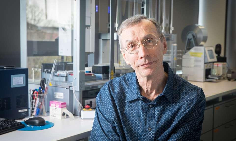 Svante Pääbo, director of evolutionary genetics at the Max Planck Institute for Evolutionary Anthropology. Photograph: Christian Jungeblodt